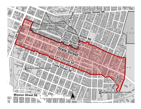 State Street Corridor Project Map