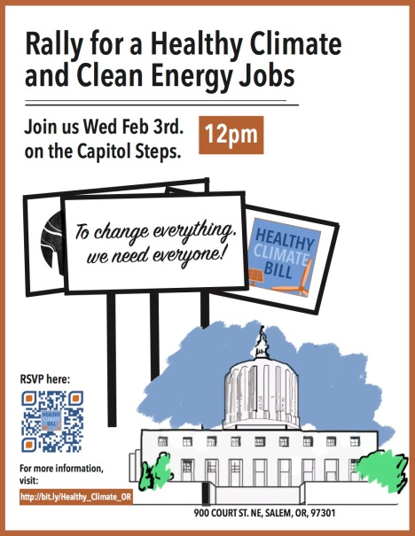 Healthy Climate Bill Poster To Print
