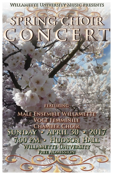 Spring Choir Poster S '17