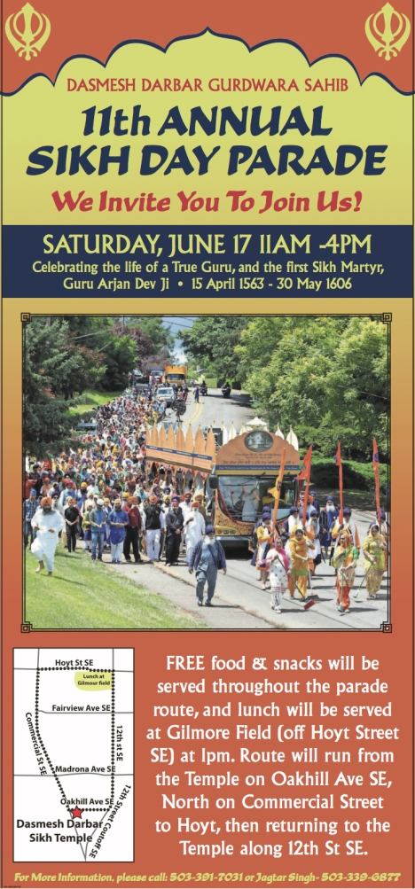 11th Annual Sikh Day Parade 2017