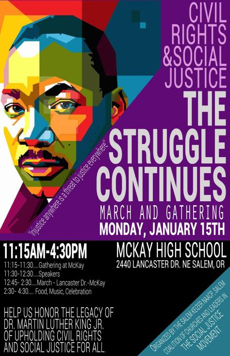 MLK March Jan 15