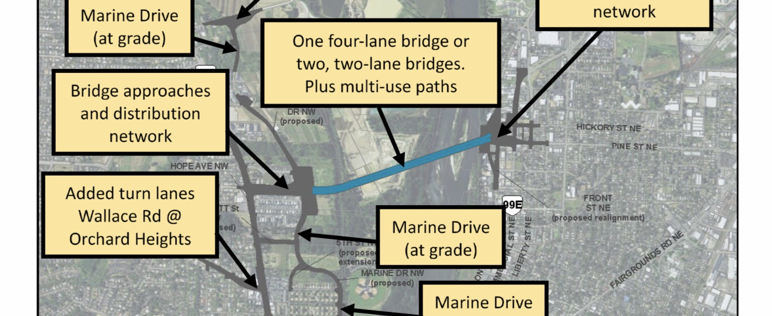 City issues report on Salem River Crossing project in advance of January 30 Council Work Session